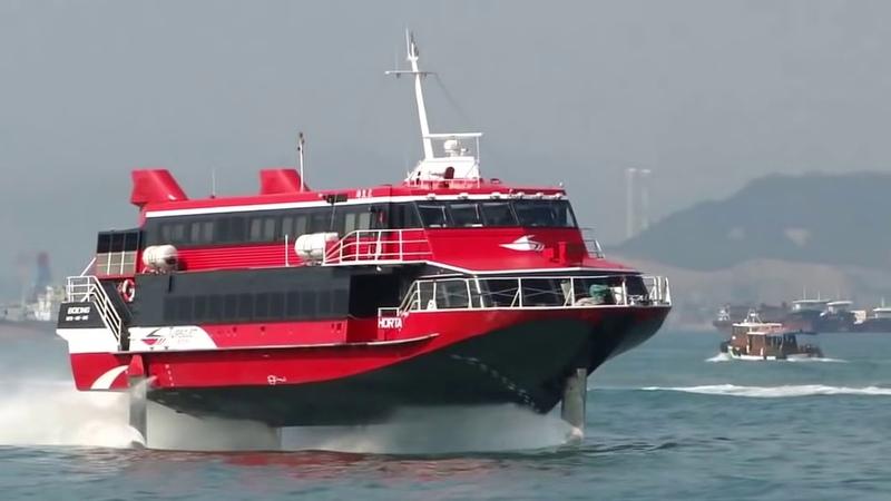 Navio Super Rápidos agora com turbinas BOEING!