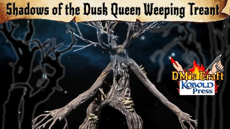 🌳Weeping Treant 🌳DIY Enigmatic Monster from Shadows of the Dusk Queen for DD and Pathfinder