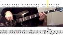 Queen - Bohemian Rhapsody Bass Line w/tabs and standard notation