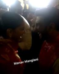 """Manav Manglani on Instagram: """"Gate B No Exit - Let's take Gate C...As they laugh away the airport chaos #deepikapadukone #ranveersingh #deepveerkis..."""