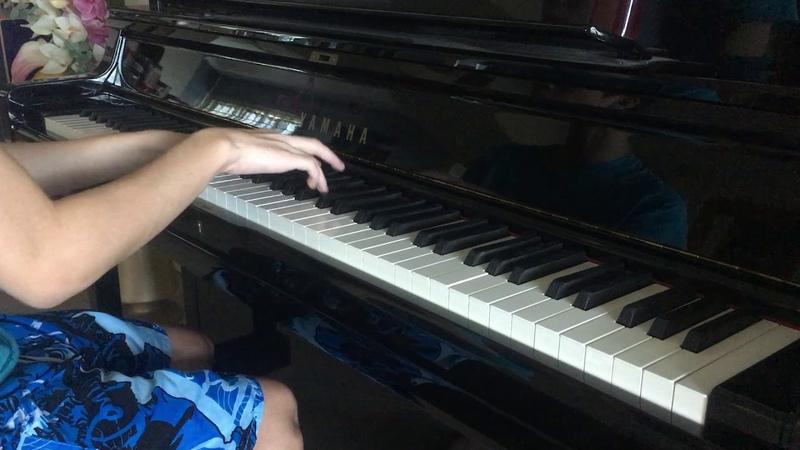 FULL JoJo's Bizarre Adventure Golden Wind OP 2 Uragirimono no Requiem Piano Cover