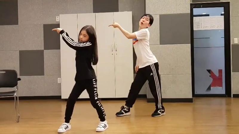 [키즈인댄스] 나하은(Na Haeun) - 제니 - SOLO 댄스 연습 스케치. Practice Ver.