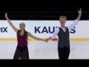 Екатерина Андреева  Иван Десяов - ПТ, ЮГП Amber Cup Kaunas 2018