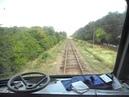 Небольшая поездка в кабине ДР1А. Short travel inside cabine DR1A.