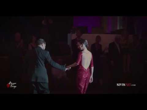 Natalia Hassan Leonel Mendieta 24 Tango exhibition by SivisArt