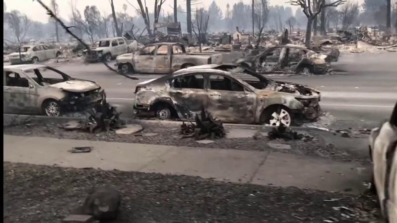 В США выжигают города с НЛО
