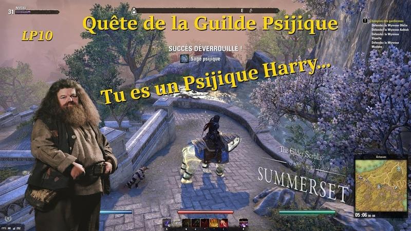 TESO Guilde Psijique Tu es un Psijique Harry LP 10 PC Fr