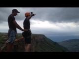 Водопад Тобот. Первый прыжок (8.07.18) 2160p