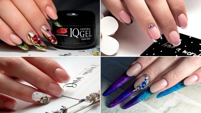 Моделирование ногтей IQ Control Gel PNB | Гель для наращивания ногтей нового поколения