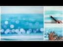 Ocean Bokeh in Watercolor Painting Tutorial