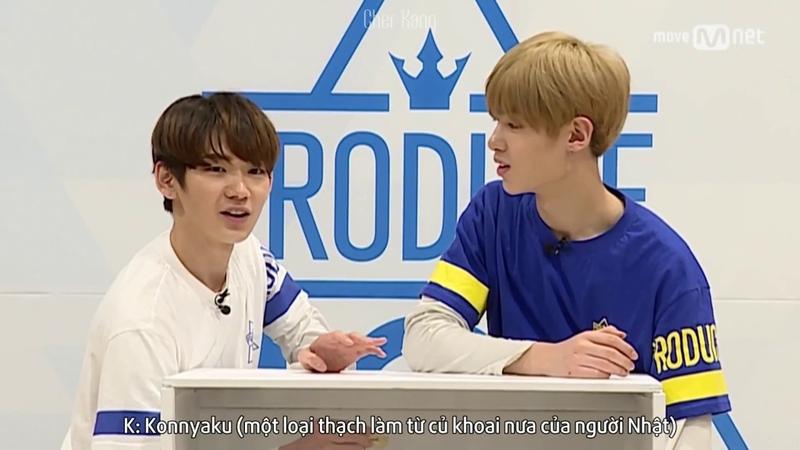 [VIETSUB] Produce 101 Season 2 Hidden Box Mission | Takada Kenta (Star Road) vs Justin (Yue Hua)