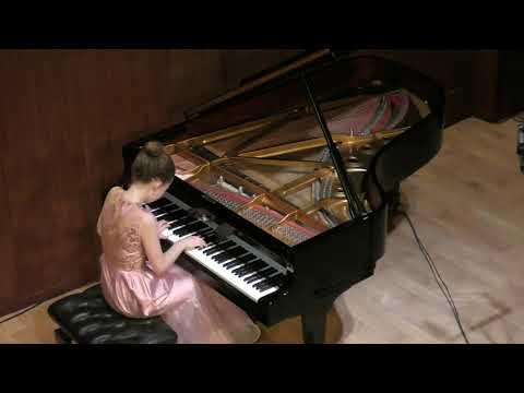 Варвара Кутузова 14 лет, концерт в кам.зале московской филармонии