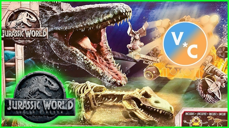 Jurassic World Quest for Indominus Rex Pack Review (Walmart.com Exclusive)
