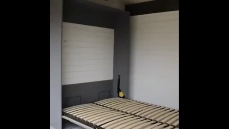 Вариант выдвижной кровати tricks lf