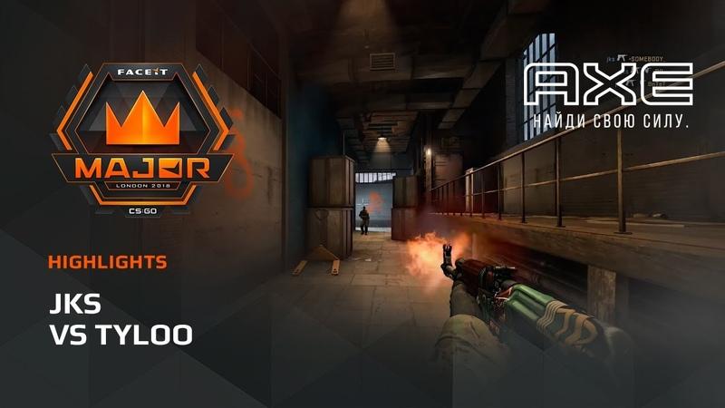 Jks vs TyLoo, Asia Minor – FACEIT Major 2018