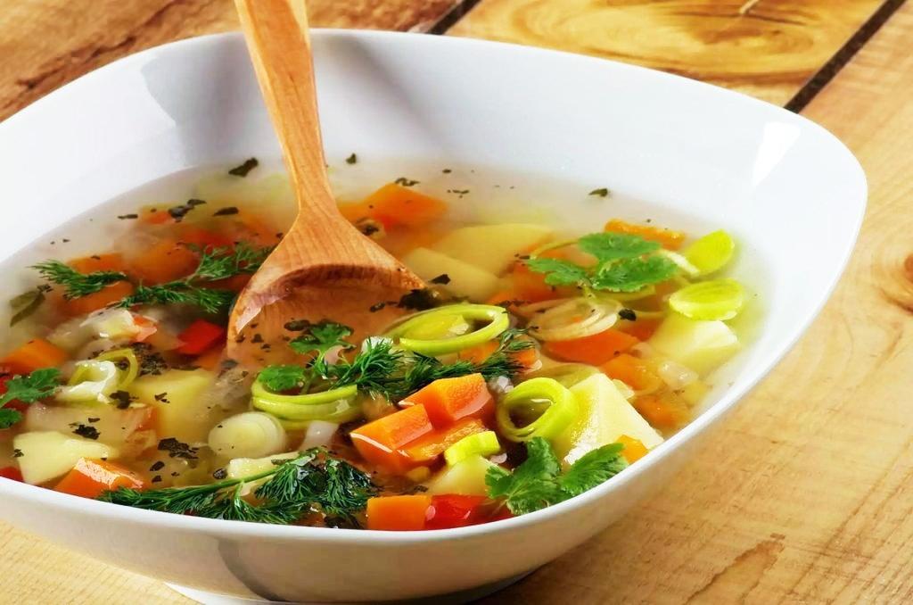 Простые овощные супы для похудения