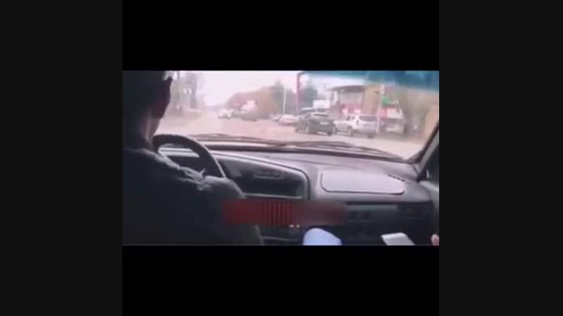 Автохам в Ставрополе пересёк двойную сплошную