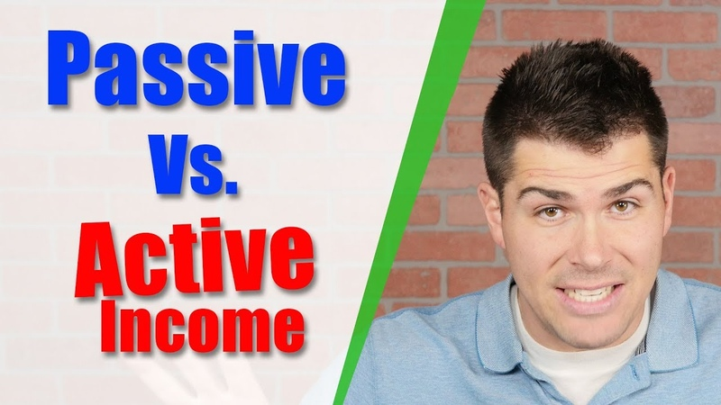 Passive Income Vs. Active Income