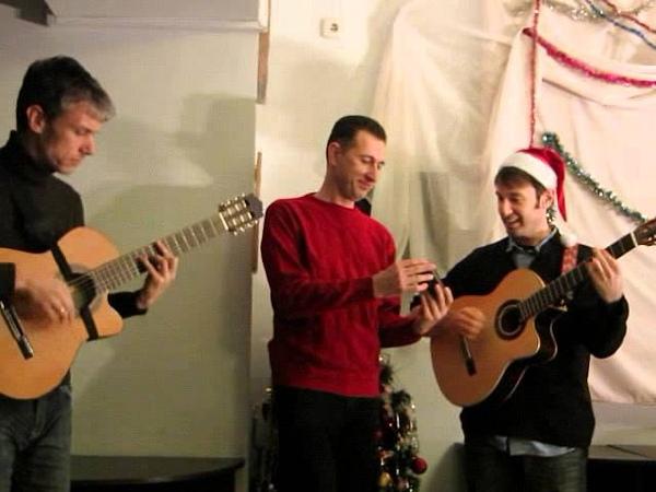 Joshua Lanza Вл.Шишкин.Jingle Bells.Новый год Талассы.Симферополь(28.12.2013)