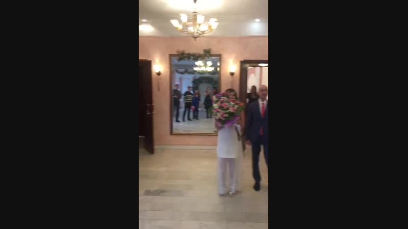 свадебные торжества сегодня в ЗАГСе 18 01 2019 стас и яна