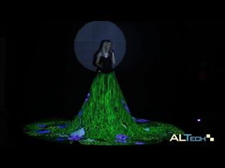 Mariah Carey – Hero ( Video Mapping -Dress-)