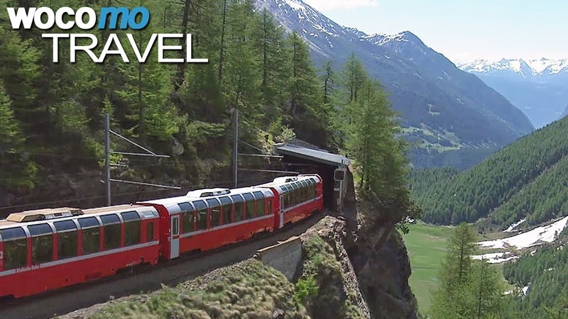 World s Most Beautiful Railway The Bernina Express