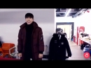 Kihyun starts to dance automatically in Bigbang's song!