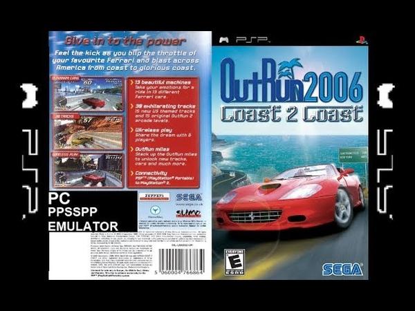 Outrun 2006: Coast 2 Coast (PC\PSP Emulator) - Gameplay