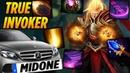 MidOne True Invoker Master Dota 2