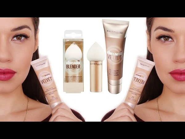 New Maybelline Dream Velvet Foundation Review Drugstore Foundation Giveaway Eman