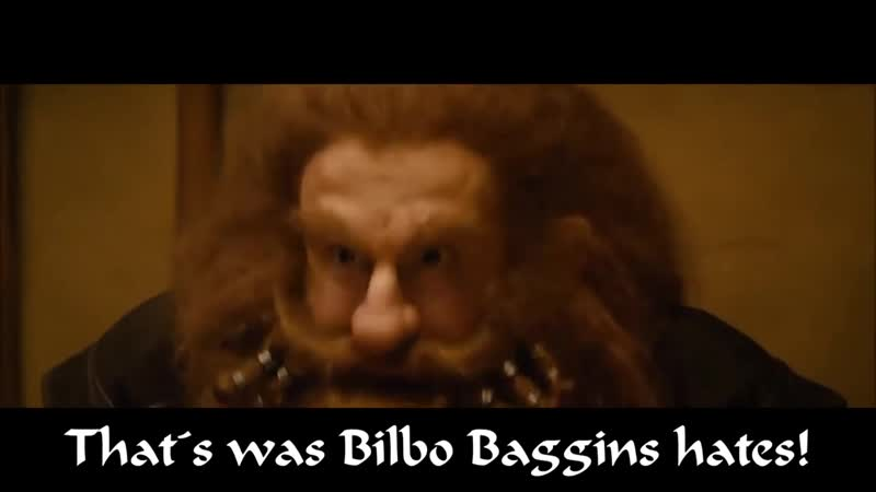 The Hobbit - Blunt the Knives_Thats What Bilbo Baggins Hates