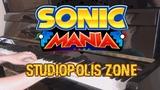 Super Hard Piano Cover Studiopolis Zone Act 1 (Sonic Mania) AqareCover