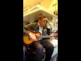 студенты  ржд из Иркутска развлекали пассажиров поезда