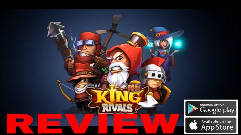 King Rivals War Clash IOS Android Review Gameplay Walkthrough