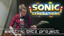 Electric Blitz Project Big Arms Sonic 3 Generations Crush 40 vs Cash Cash Guitar Cover