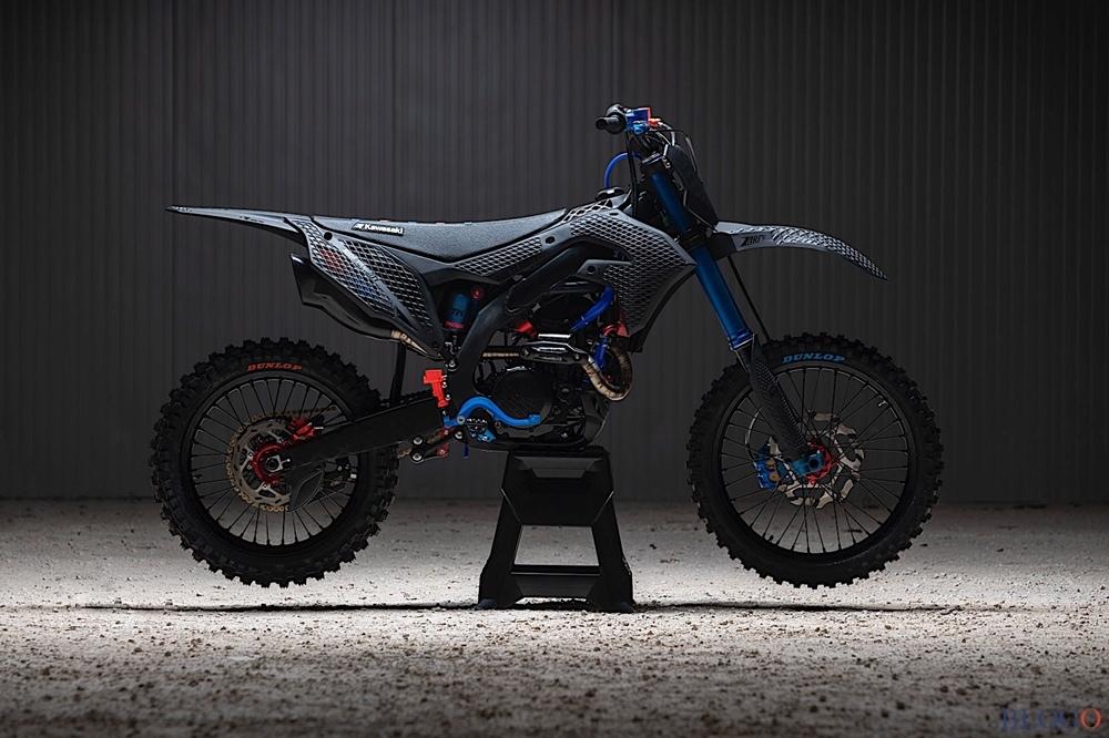 Альваро Даль Фарра: мотоцикл Kawasaki KX 450 2019 3D Core