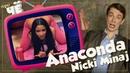 Эстрада или софт порно Anaconda Nicki Minaj Перевод песни