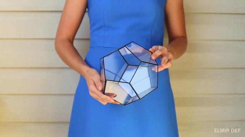 Геометрический флорариум додекаэдр