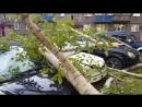Последствия урагана в Новокузнецке