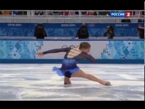 Репортаж о Юлии Липницкой канала Россия 2, Report about Yulia Lipnitskaya (26.03.2014)