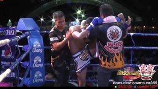 (คู่เอก) กุหลาบดำ Vs เมืองไทย | Kulabdum Vs Muangthai, 6 กรกฏาคม 2561 | Muay Thai