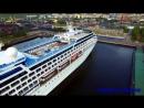 Круизный лайнер Nautica прибыл в Мурманск. Круизы всё больше и больше интересуют путешественников.