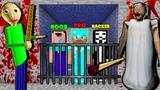 MINECRAFT BATTLE NOOB vs PRO vs HACKER vs GOD Scary Prison Escape CHALLENGE in Minecraft ANIMATION