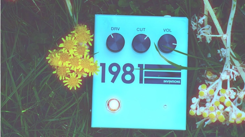 Does the 1981 Inventions Pedal Shoegaze? (pedal demo)