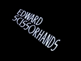 edward scissorhands (1990) title sequence