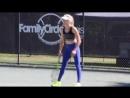 8 Sexy WTA Girls Training in Leggings