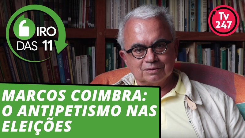 Marcos Coimbra: o antipetismo nas eleições parte 1 = Giro das 11 com Mauro Lopes - 18.fev.19