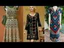 Crochet long dresses /maxis / Tops designs and styles latest beautifull collection ..