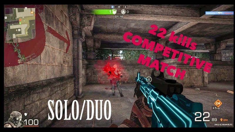 22 KILLS Competitive Match (Black Squad Gameplay) Ygadaykto