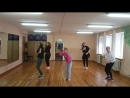Наши девочки танцуют хореографию Андрея Маркова
